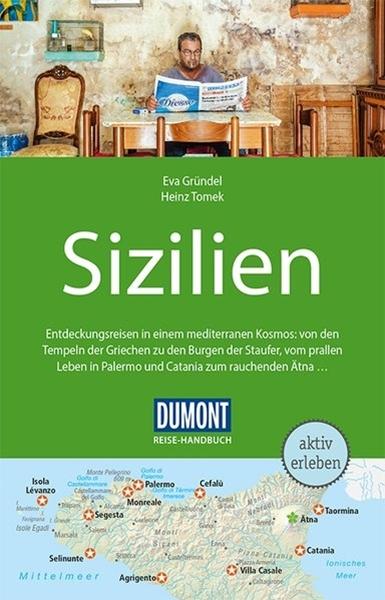 Bild von Gründel, Eva : DuMont Reise-Handbuch Reiseführer Sizilien. 1:350'000