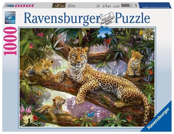 Bild von Stolze Leopardenmutter