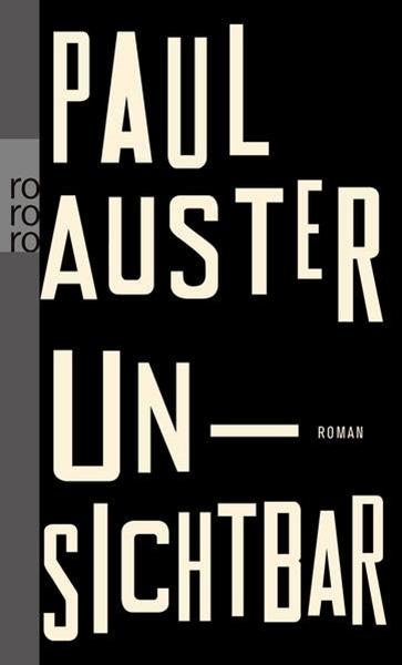 Bild von Auster, Paul : Unsichtbar