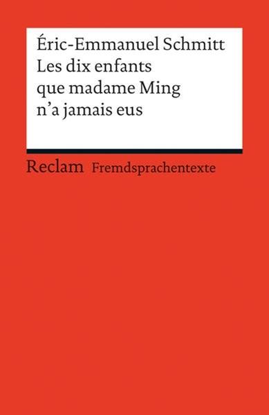 Bild von Schmitt, Éric-Emmanuel : Les dix enfants que Madame Ming n'a jamais eus