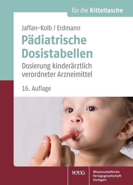 Bild von Jaffan-Kolb, Linda : Pädiatrische Dosistabellen