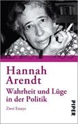 Bild von Arendt, Hannah: Wahrheit und Lüge in der Politik