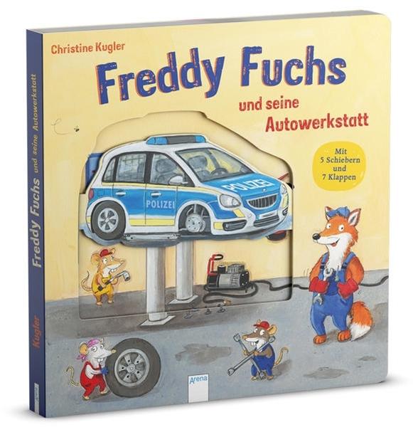 Bild von Kugler, Christine : Freddy Fuchs und seine Autowerkstatt