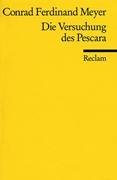 Bild von Meyer, Conrad F: Die Versuchung des Pescara