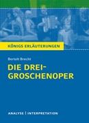 Bild von Brecht, Bertolt : Die Dreigroschenoper von Bertolt Brecht
