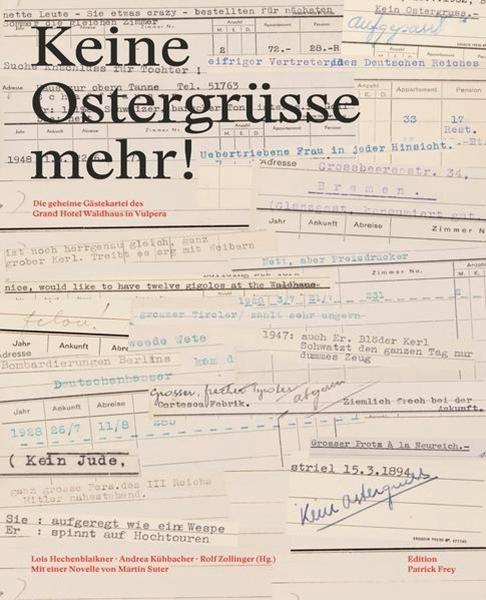 Bild von Hechenblaikner, Lois (Hrsg.) : Keine Ostergrüsse mehr!