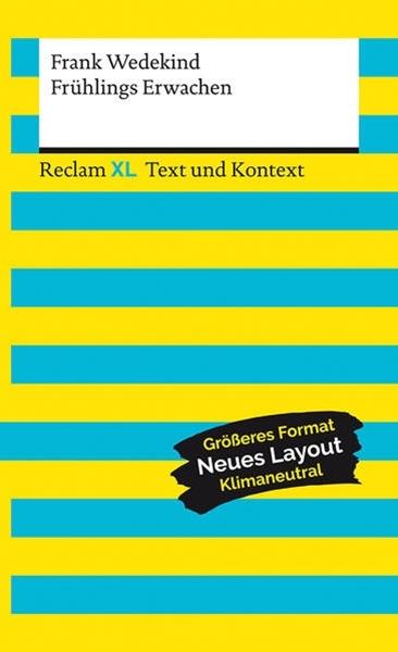 Bild von Wedekind, Frank : Frühlings Erwachen. Textausgabe mit Kommentar und Materialien
