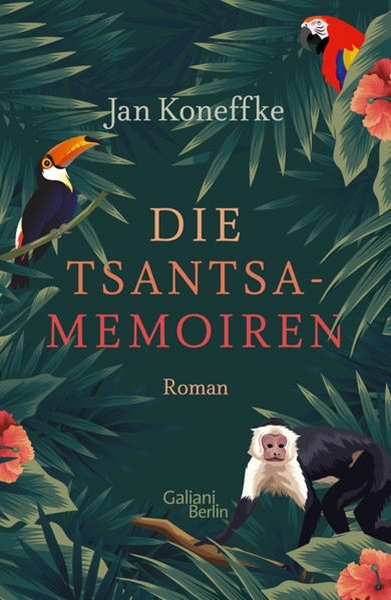 Bild von Koneffke, Jan: Die Tsantsa-Memoiren