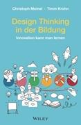 Bild von Meinel, Christoph : Design Thinking in der Bildung