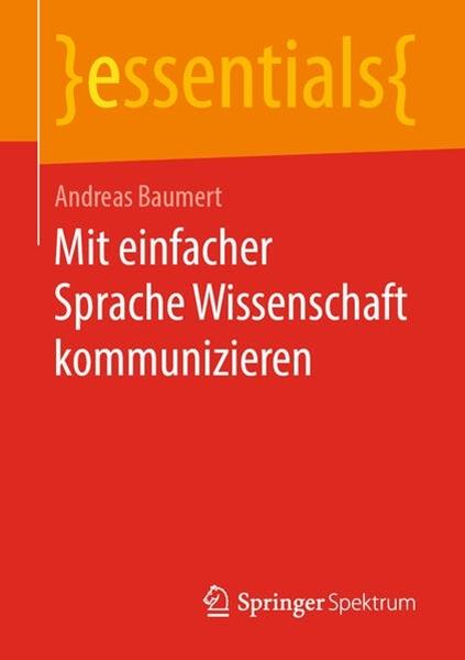 Bild von Baumert, Andreas: Mit einfacher Sprache Wissenschaft kommunizieren