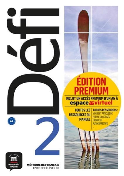 Bild von Défi 2 (A2). Livre de l'élève + CD + Premium