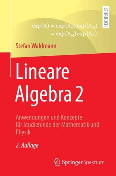 Bild von Waldmann, Stefan: Lineare Algebra 2
