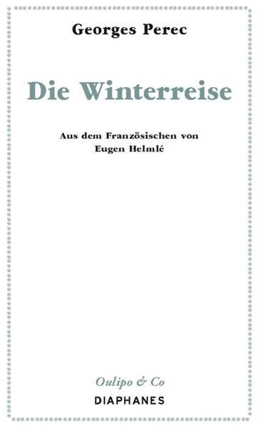 Bild von Perec, Georges : Die Winterreise