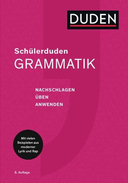 Bild von Dudenredaktion (Hrsg.): Schülerduden Grammatik