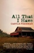 Bild von Freeman, Castle: All That I Have